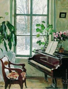 Жуковский С. Ю. Гостиная с роялем