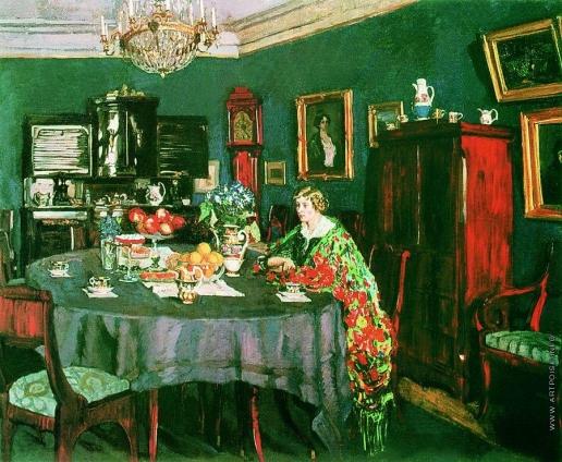 Жуковский С. Ю. За столом
