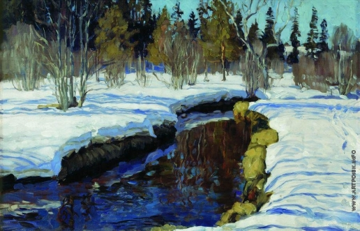 Жуковский С. Ю. Зима
