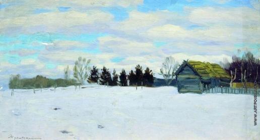 Жуковский С. Ю. Зимний день