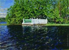 Жуковский С. Ю. Купальня в парке