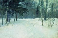 Жуковский С. Ю. Лес зимой
