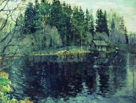 Жуковский С. Ю. Лесное озеро
