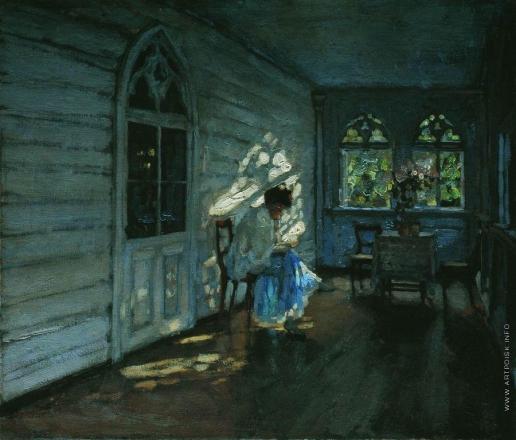 Жуковский С. Ю. На террасе