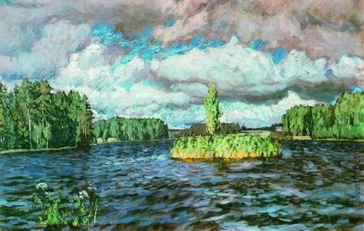 Жуковский С. Ю. Озеро Молдино