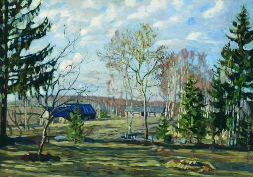 Жуковский С. Ю. Пейзаж. Лес
