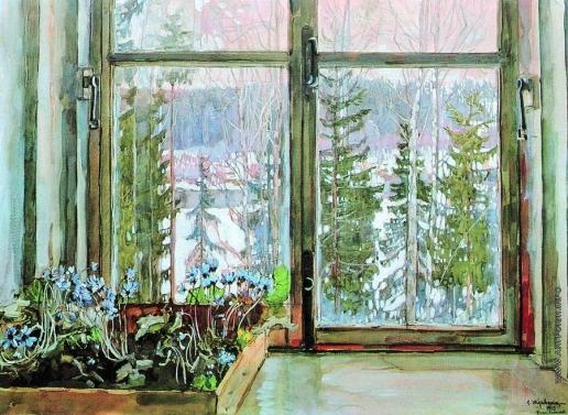 Жуковский С. Ю. Первые предвестники весны