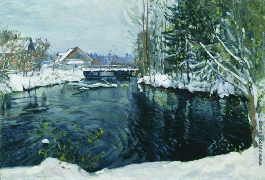 Жуковский С. Ю. Первый снег