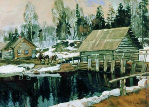 Жуковский С. Ю. Плотина