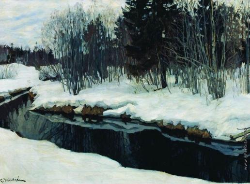 Жуковский С. Ю. Приближение весны