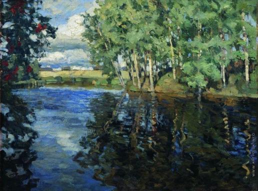Жуковский С. Ю. Река