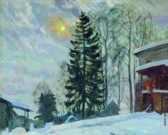 Жуковский С. Ю. Усадьба зимой