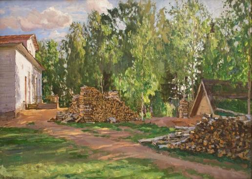 Жуковский С. Ю. Усадьба. Двор