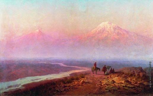 Занковский И. Н. Арарат. На Кавказе