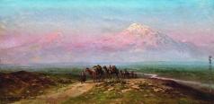 Занковский И. Н. Вид на Арарат
