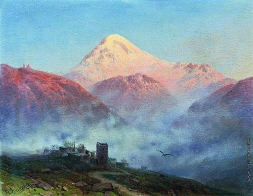 Занковский И. Н. Гора Казбек