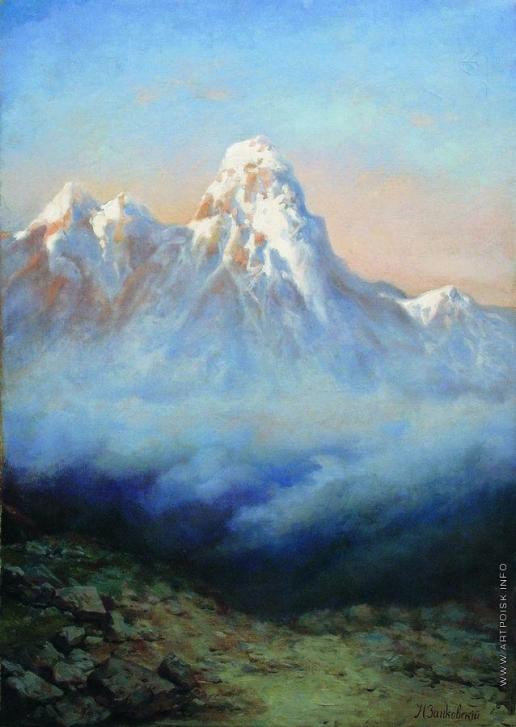 Занковский И. Н. Горные вершины