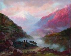 Занковский И. Н. Казачий дозор в горах