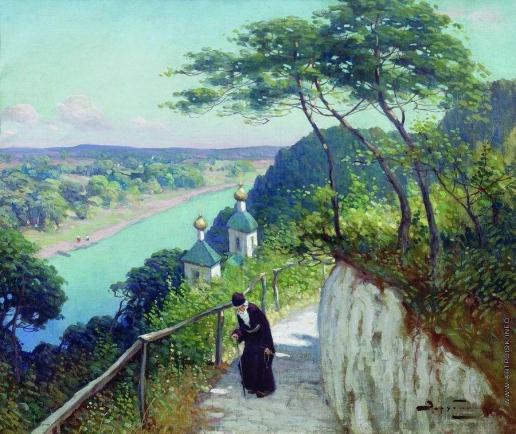 Зарубин В. И. Часовня Святогорского монастыря