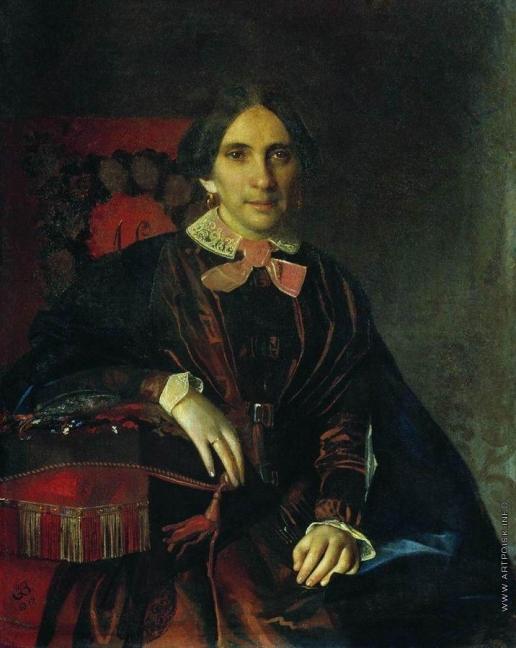 Зарянко С. К. Портрет А.К.Ломновской