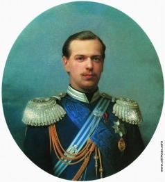 Зарянко С. К. Портрет великого князя Александра Александровича (1845-1894) в свитском сюртуке