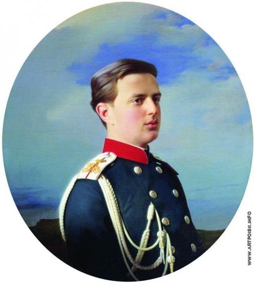 Зарянко С. К. Портрет великого князя Владимира Александровича (1847-1909)