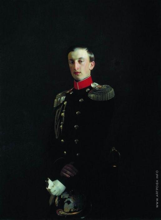 Зарянко С. К. Портрет великого князя Николая Николаевича Старшего (1831-1893)
