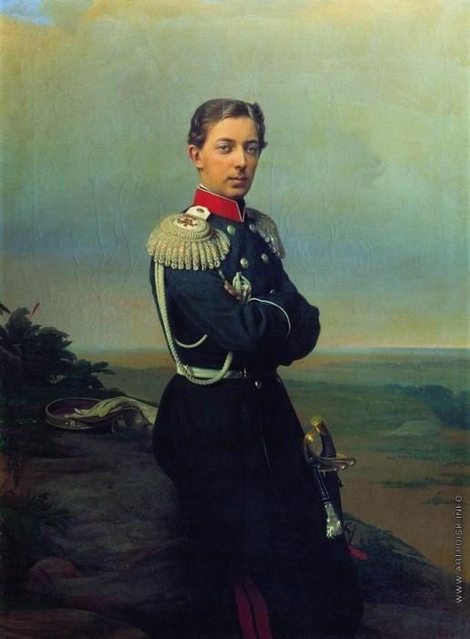 Зарянко С. К. Портрет великого князя наследника цесаревича Николая Александровича