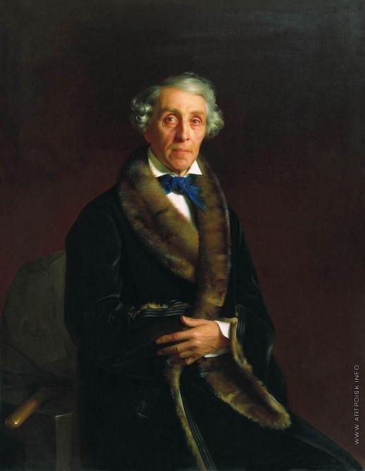 Зарянко С. К. Портрет вице-президента Академии художеств графа Федора Петровича Толстого
