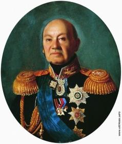 Зарянко С. К. Портрет генерал-адъютанта графа Арсения Андреевича Закревского. Не ранее