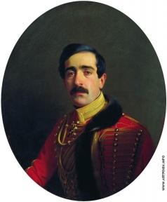 Зарянко С. К. Портрет князя Семена Давыдовича Абамелека