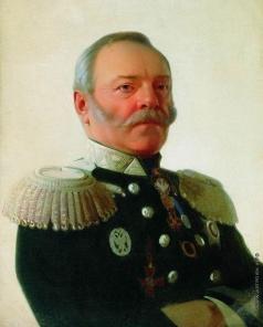 Зарянко С. К. Портрет министра путей сообщения Павла Петровича Мельникова (1804-1880)