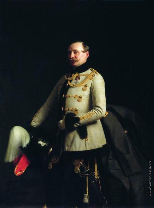 Зарянко С. К. Портрет поручика лейб-гвардии Гусарского полка Александра Дмитриевича Пономарева