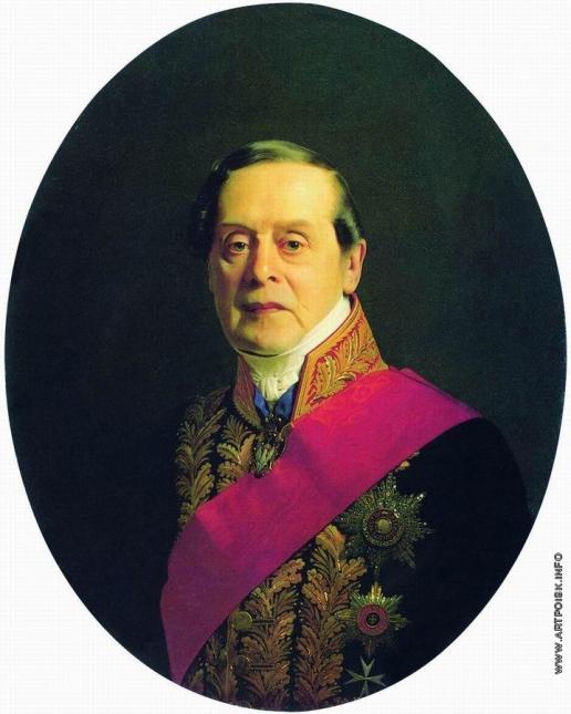 Зарянко С. К. Портрет статс-секретаря, действительного тайного советника Александра Сергеевича Танеева