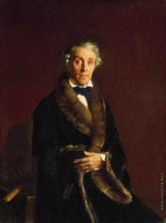 Зарянко С. К. Портрет художника и скульптора Ф.П.Толстого, вице-президента Академии художеств