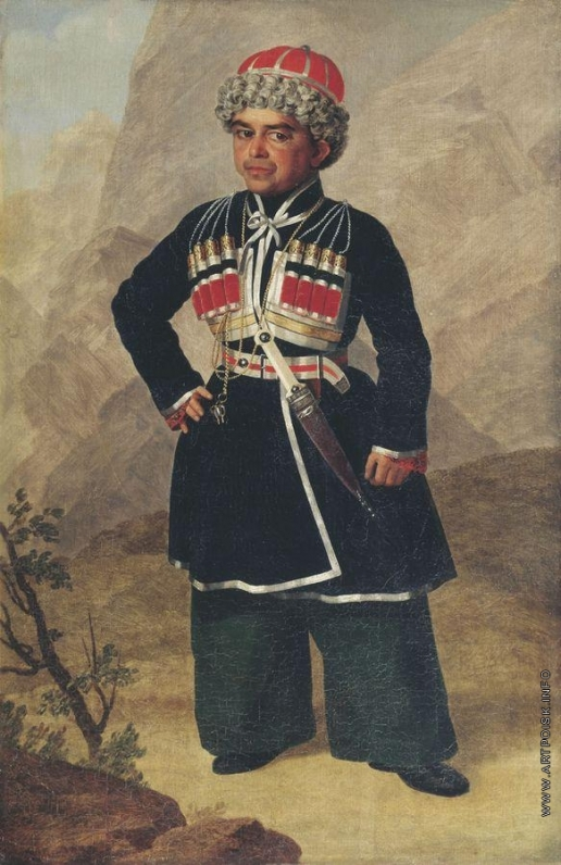 Зауервейд А. И. Ахметка, карлик Николая I