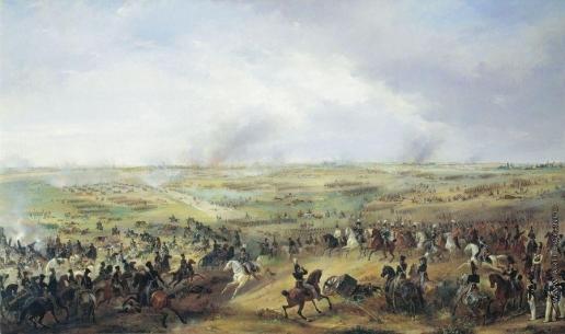 Зауервейд А. И. Битва под Лейпцигом