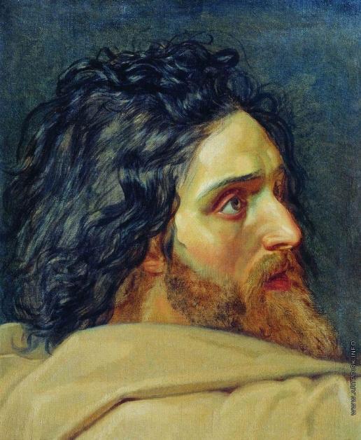 Иванов А. А. Голова Иоанна Крестителя