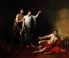 Иванов А. А. Иосиф, толкующий сны заключённым с ним в темнице виночерпию и хлебодару