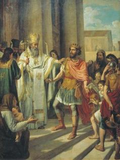 Иванов А. И. Крещение великого князя Владимира в Корсуни
