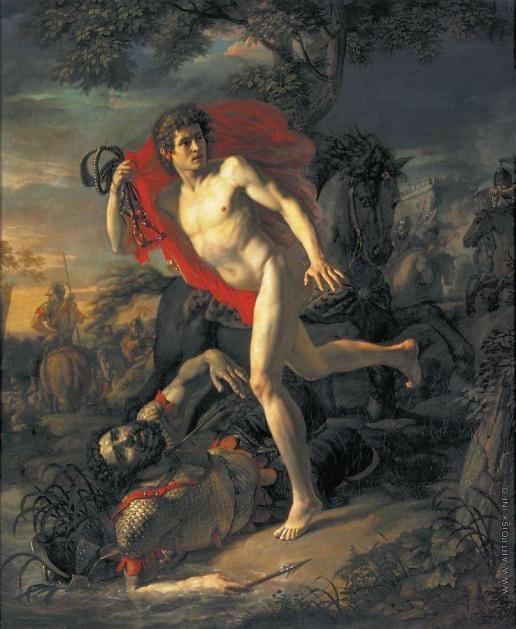 Иванов А. И. Подвиг молодого киевлянина при осаде Киева печенегами в 968 году