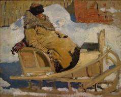 Иванов С. В. Крестьянин в санях. 1904-