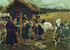 Иванов С. В. Юрьев день