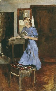 Истомин К. Н. Девушка в голубом