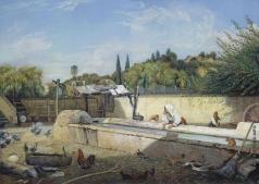 Кабанов И. А. Терраса в окрестностях Рима