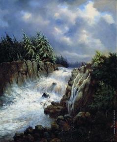 Каменев Л. Л. Водопад