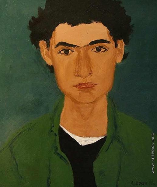 Абаджан А. С. Подросток в зеленой куртке