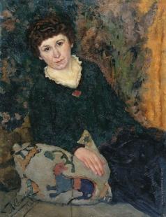 Келин П. И. Женский портрет