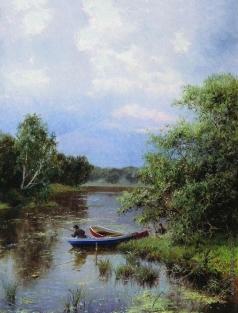 Киселев А. А. На пруду