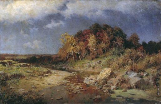 Киселев А. А. Осень. Ветреный день